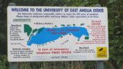 Map of UEA Lake Broad
