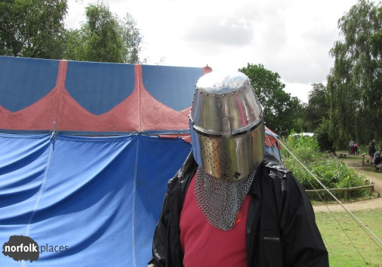 Medieval day at Pensthorpe