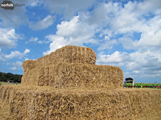 Wizard Maze and Play - Giant Haystacks! Climb the pyramid