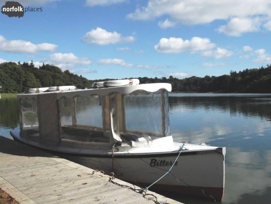 Boat on Fritton Lake
