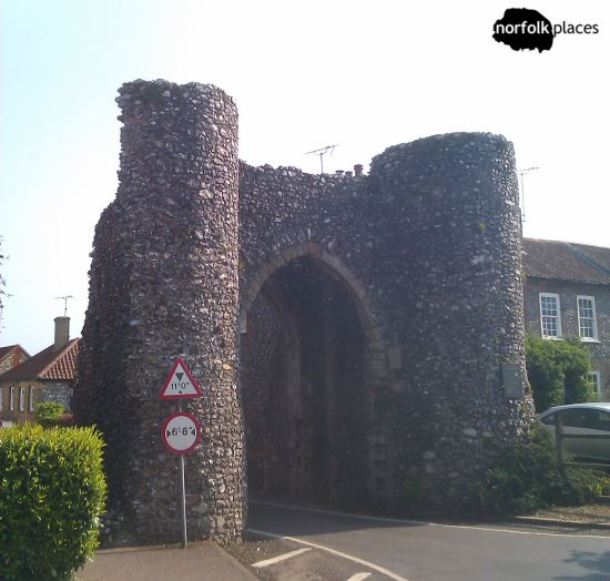 The Bailey Gate at Castle Acre