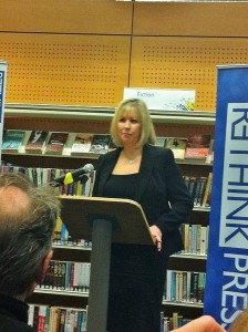 Keri Beevis at Rethink Press New Novels Competition Winner Event
