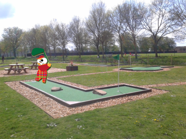 eaton park crazy golf
