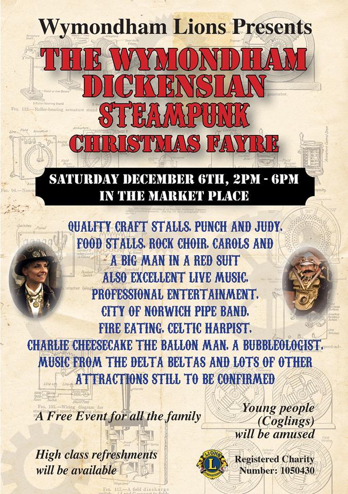 Wymondham Dickensian Steampunk Christmas Fayre 2014