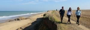 Norfolk Coastal Path. Photo Credit: David Kirkham/Norfolk Trails