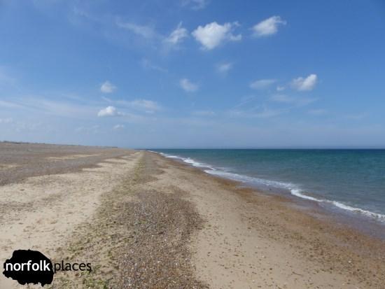 Walking to Blakeney Point along the Coast