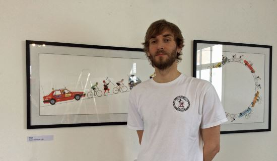 Alex - Peloton exhibition