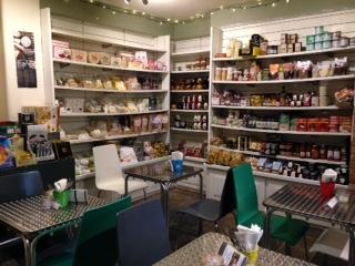 The Norfolk Deli shelves