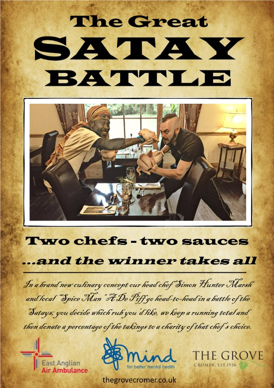 The Grove Cromer Satay Battle poster