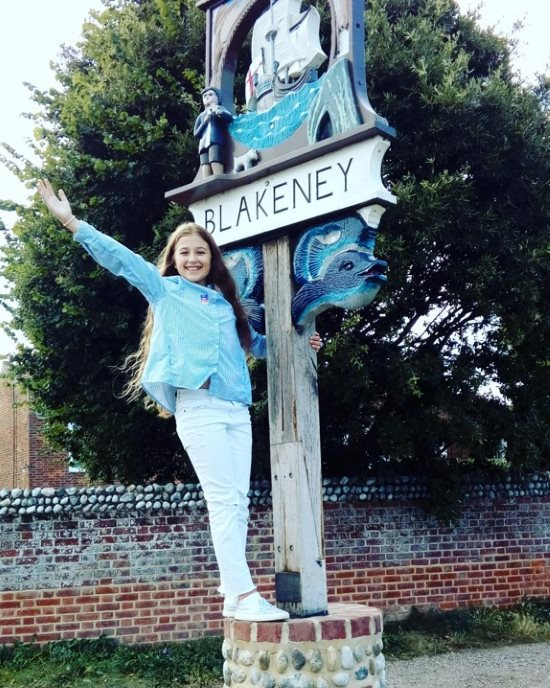 Blakeney sign