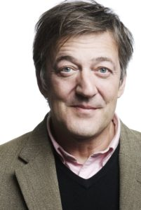 Stephen Fry- keep giving campaign