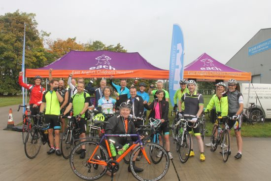 each ride for life cyclists