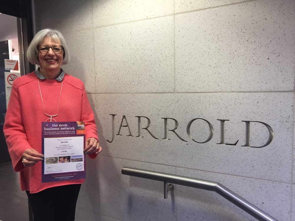 Jarrold joining nook business network