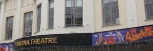 aladdin marina theatre Lowestoft