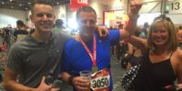 London Marathon runners & Davina's head for heights