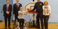 Fakenham Golf Club Seniors Present Wheelchair to Norwich Low Riders Basketball Club
