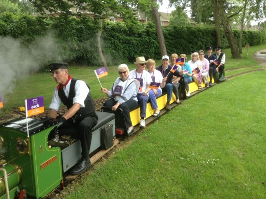 Eaton Park Miniature Railway EACH