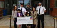 Ready, Steady, Nook! EACH receives £2,554 from police raffle and bake sale