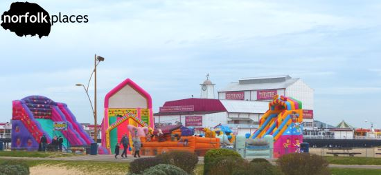 Colourful Great Yarmouth