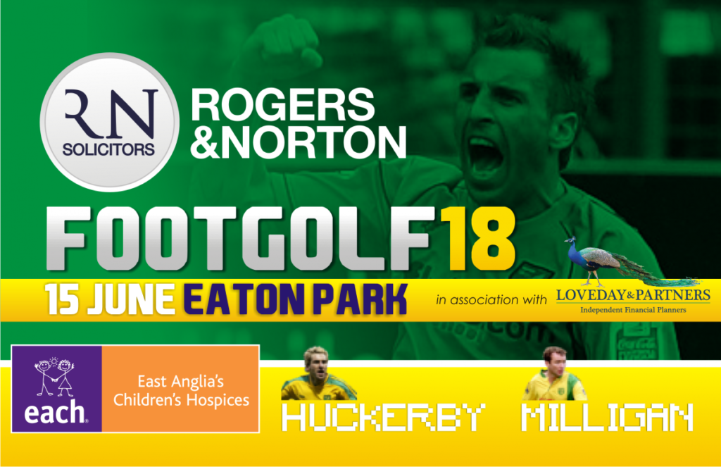 charity footgolf