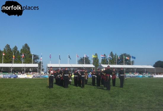 Military band at Norfolk Show