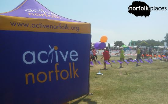 Active Norfolk at Norfolk Show