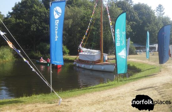 broads sailing at norfolk show