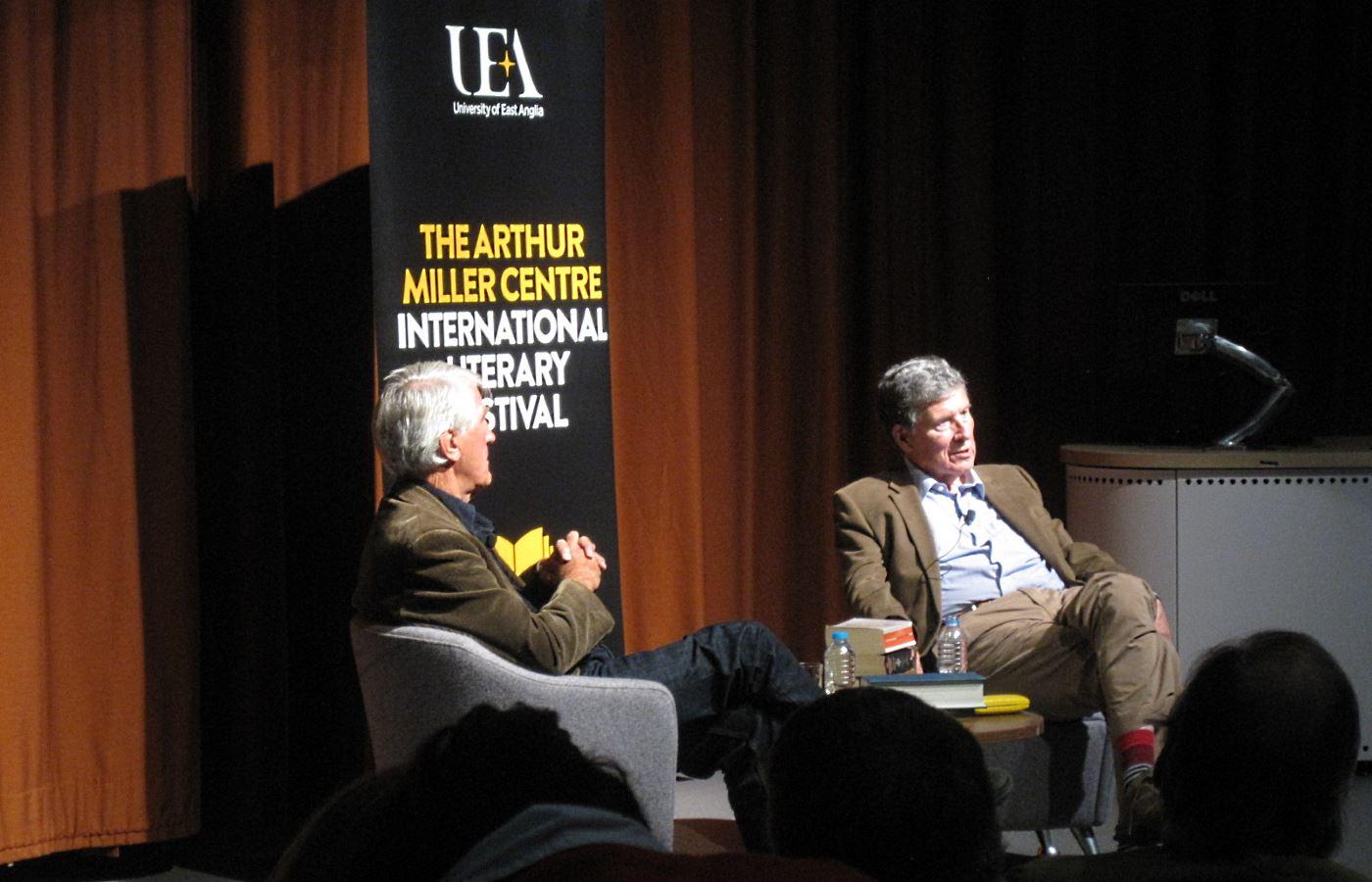 Christopher Andrew at UEA Literary Festiva