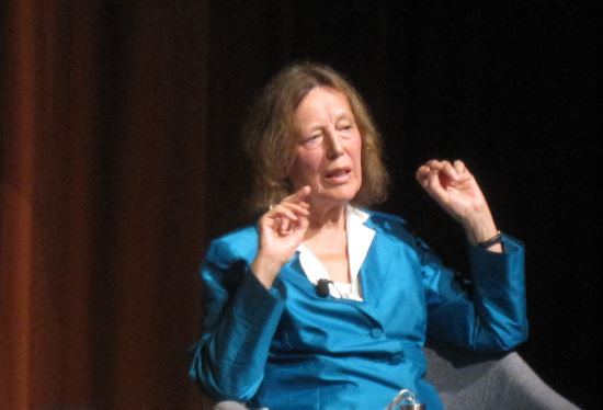 Claire Tomalin@ UEA Literary Festival