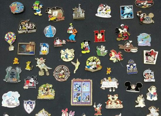 collectible Disney pin badges EACH