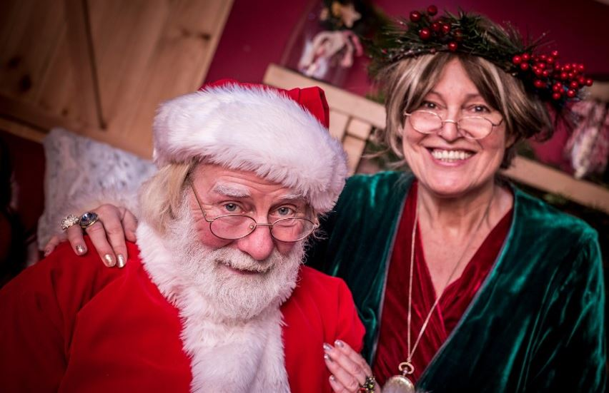 father christmas and mother christmas