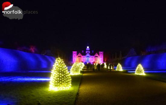 Blickling Hall at Christmas