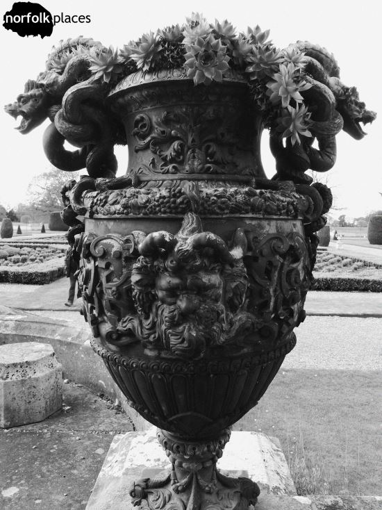 Somerleyton Hall Gardens Ornate Pot
