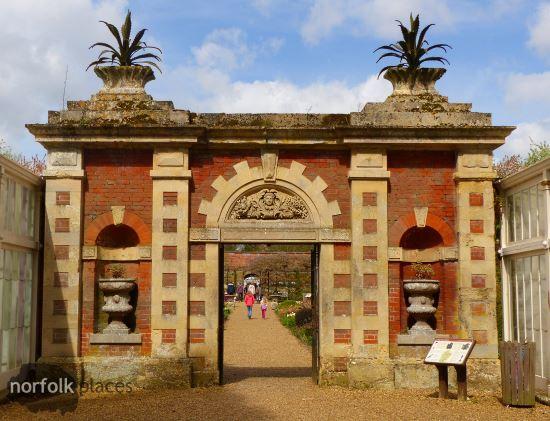 Somerleyton Hall archway