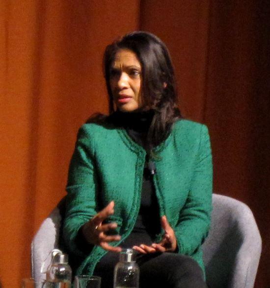 Gina Miller at UEA Lit Fest