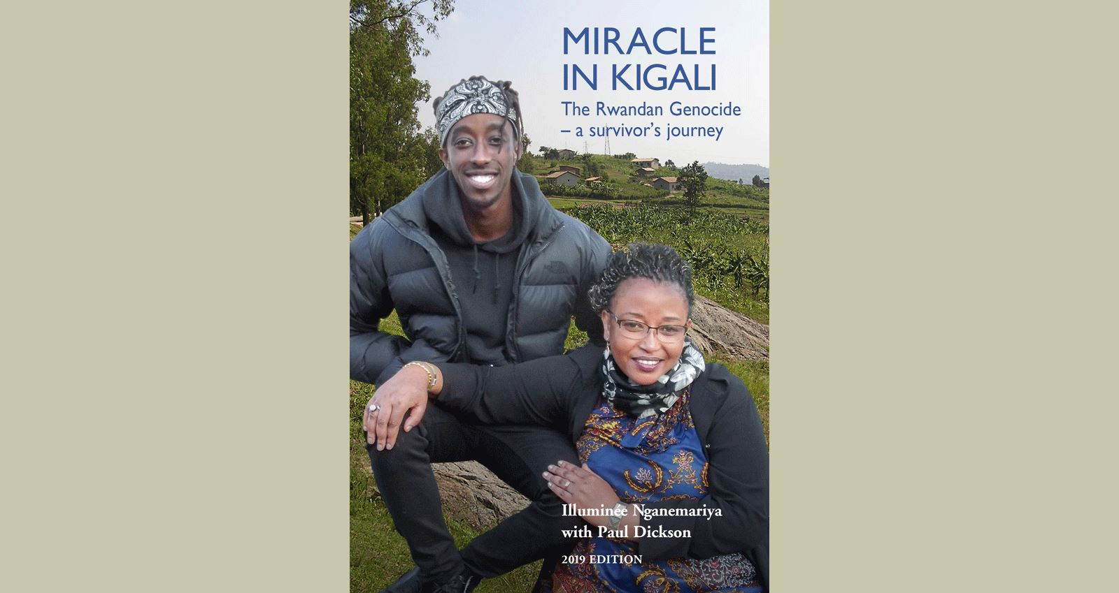 Miracle in Kigali cover press release article feature image