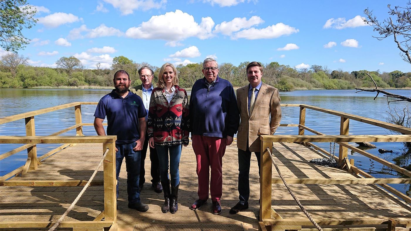 mp keith opens fairhaven floating platform