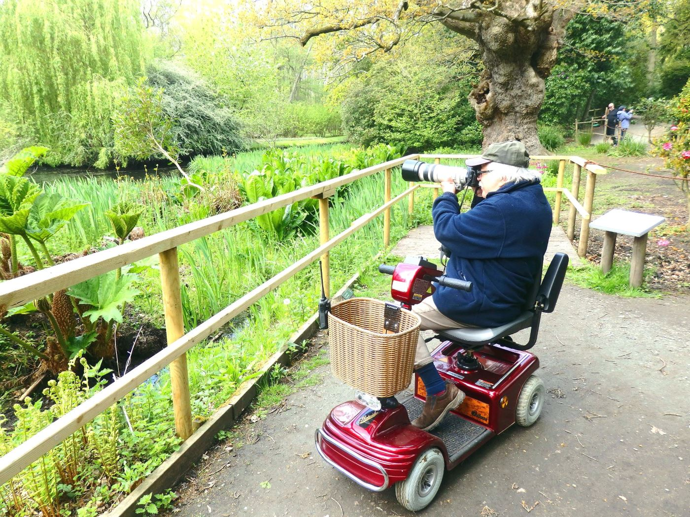 tabs taberham at fairhaven with new mobility scooter