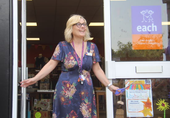 EACH Thetford clearance shop - Brigitte Youngs, Shop Manager