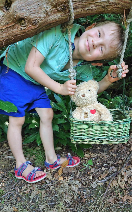 Fairhaven Garden_Teddy Bear Swing - credit Paul Dickson