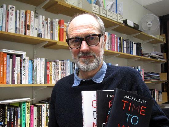 Author Harry Brett - photo credit Daniel Bardsley - NorfolkPlaces