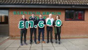Barnham Broom's Graham Knights fundraising for Macmillan