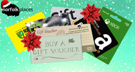 Vouchers as a Christmas Stocking Filler. try to buy paper ones, or print instead of the single-use plastic cards.