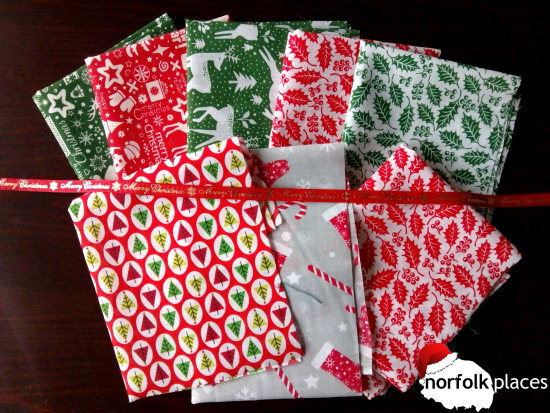 Cut back on gift wrap paper and go for reusable cloth instead.