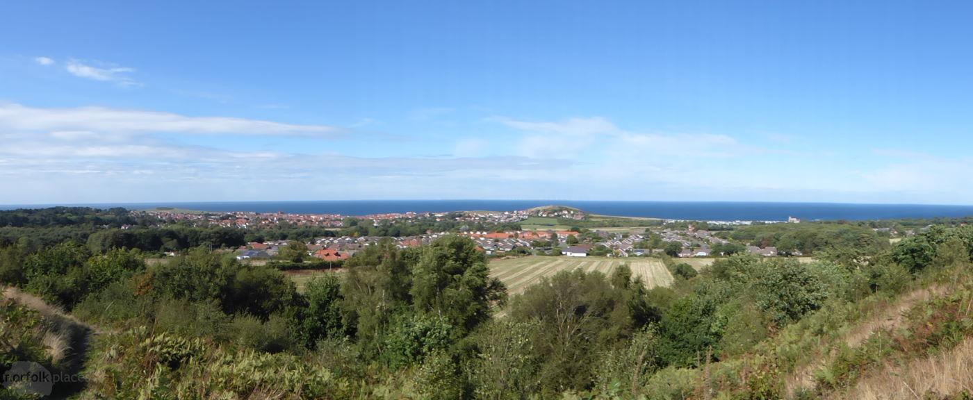 Fantasic view of Beeston Hill, aka the Beeston Bump