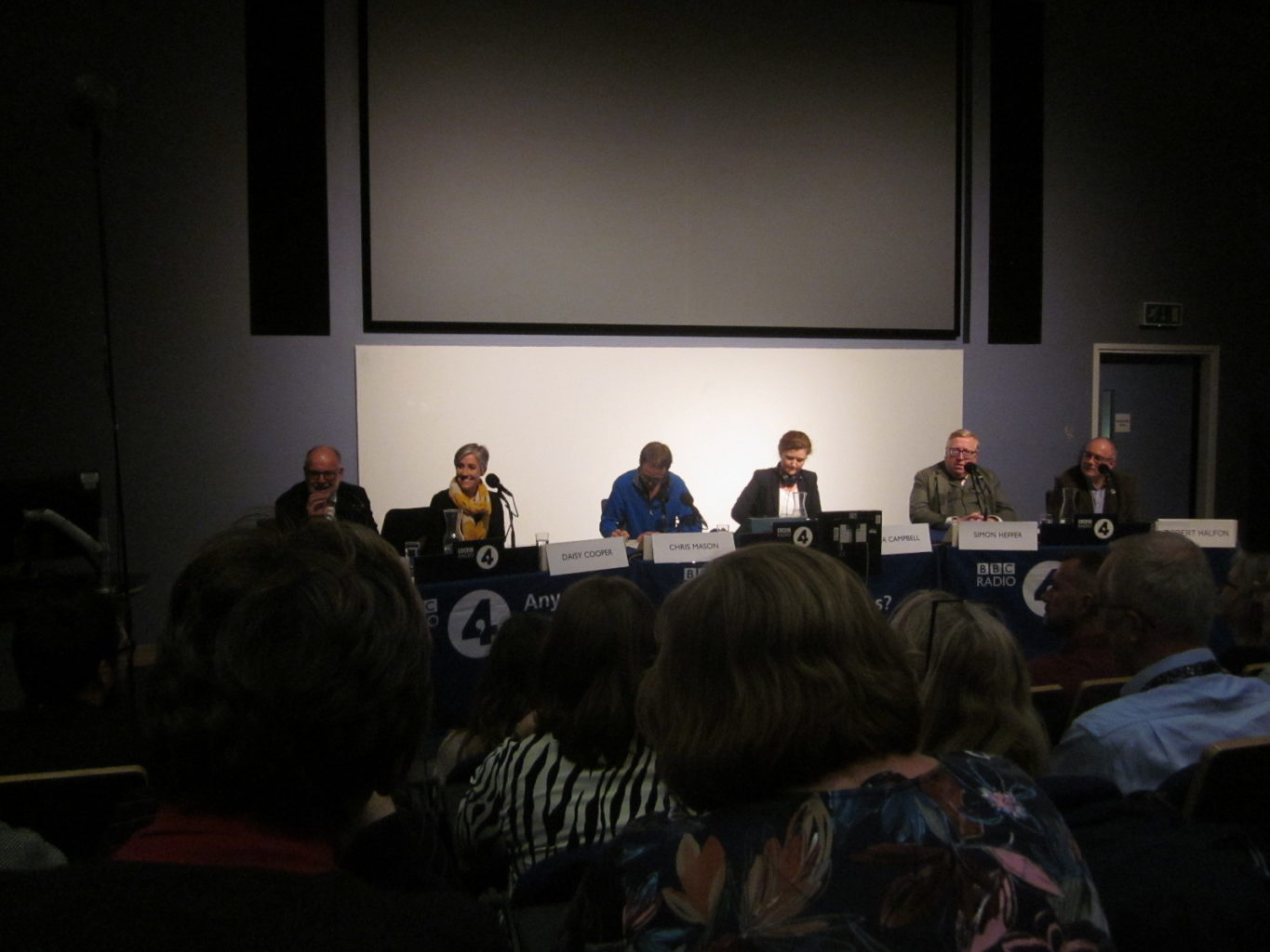 Any Questions panel