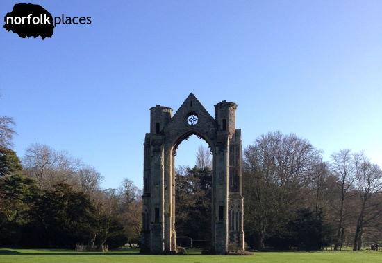 Walsingham Abbey ruins