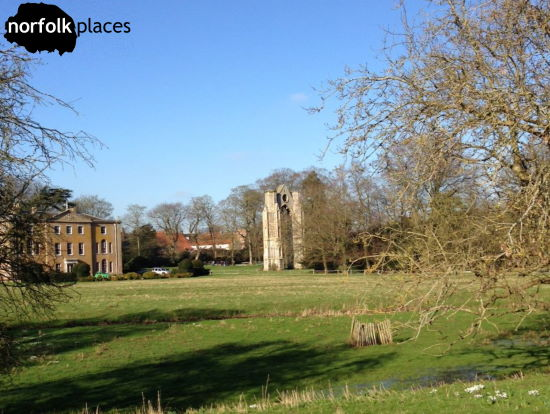 Walsingham estate and Abbey ruins