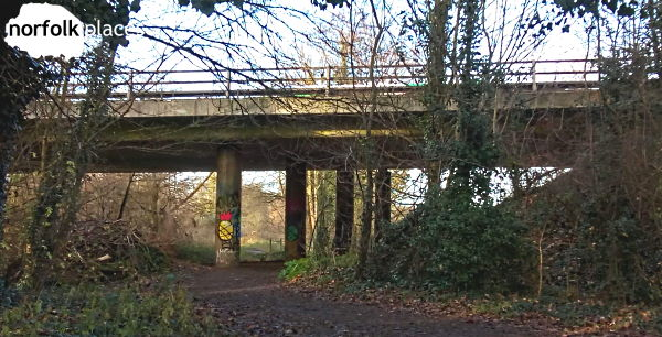 A11 underpass Cringleford