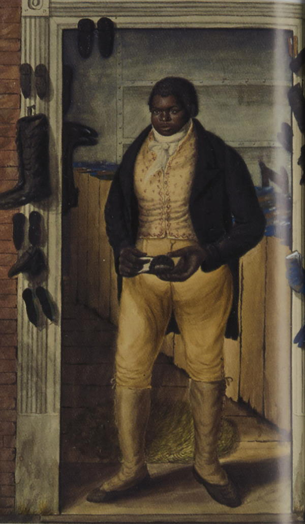 Black Charley by John Dempsey 1823 © Tasmanian Museum and Art Gallery